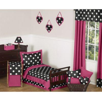 Sweet Jojo Designs Hot Dot Toddler Bedding Collection ...