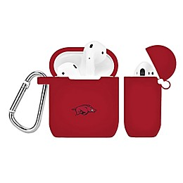 University of Arkansas Silicone Cover for Apple AirPods Charging Case in Crimson