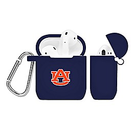 Auburn University Silicone Cover for Apple AirPods Charging Case in Navy