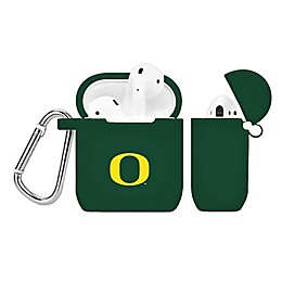 University of Oregon Silicone Cover for Apple AirPods Charging Case in Green
