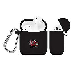 University of South Carolina Silicone Cover for Apple AirPods Charging Case in Black