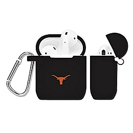 University of Texas Silicone Cover for Apple AirPods Charging Case in Black