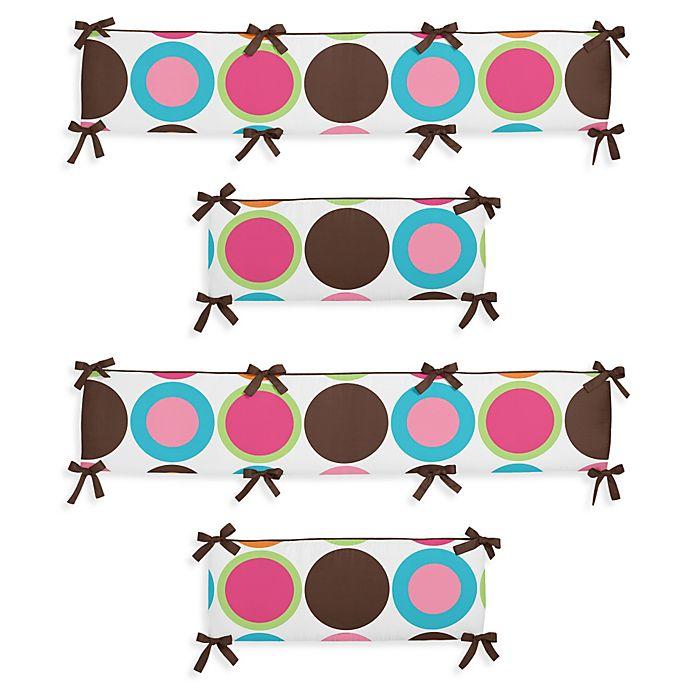 Alternate image 1 for Sweet Jojo Designs Deco Dot Crib Bumper