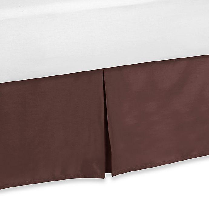 Alternate image 1 for Sweet Jojo Designs Deco Dot Toddler Bed Skirt