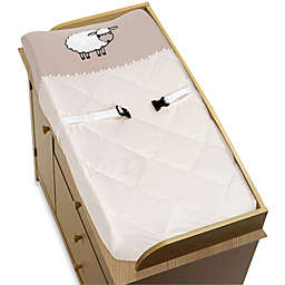 Sweet Jojo Designs Little Lamb Changing Pad Cover