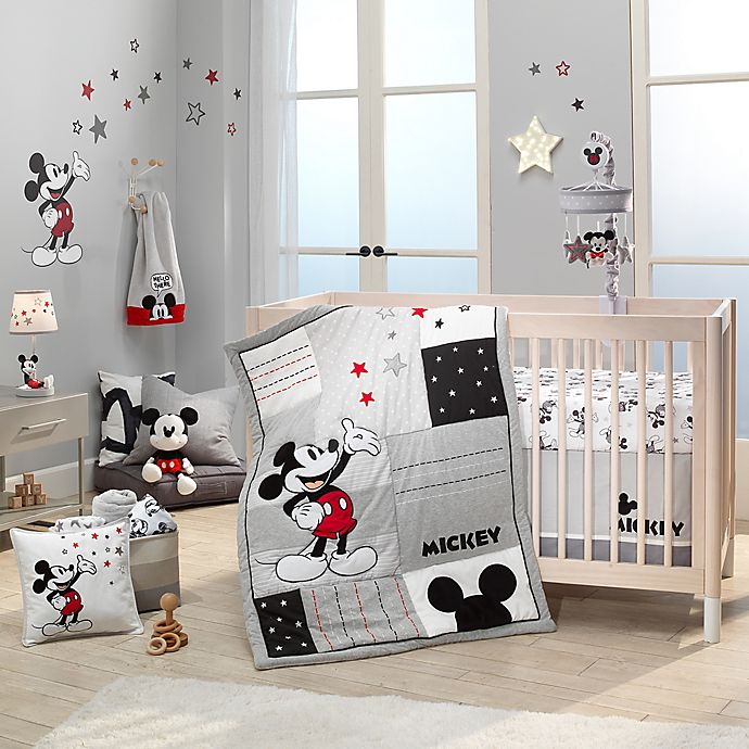 Alternate image 1 for Lambs & Ivy® Magical Mickey Mouse Bedding Collection