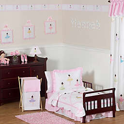 Sweet Jojo Designs Ballerina Toddler Bedding Collection