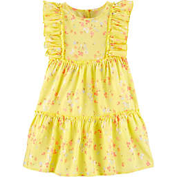 OshKosh B'gosh® Floral Dress in Yellow