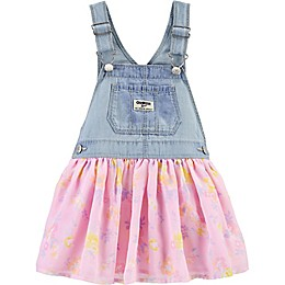 OshKosh B'gosh® Floral Tulle Jumper in Denim