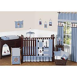 Sweet Jojo Designs Come Sail Away Crib Bedding Collection