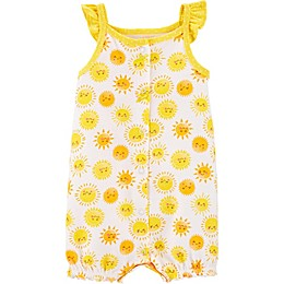 carter's® Sunshine Snap-Up Romper in Yellow