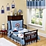 Part of the Sweet Jojo Designs Come Sail Away Toddler Bedding Collection