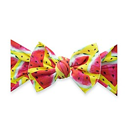 Baby Bling® One Size Juicy Melon Bow Headband in Pink/Yellow