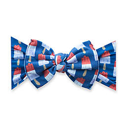 Baby Bling® One Size Popsicle Bow Headband in Blue/Red