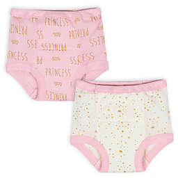Gerber® 2-Pack Princess Training Pants in Pink/White