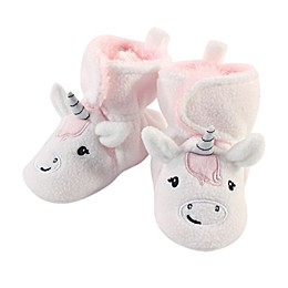 Hudson Baby® Unicorn Sherpa Fleece-Lined Scooties in White