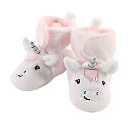 Hudson Baby® Unicorn Sherpa Fleece-Lined Scooties in White