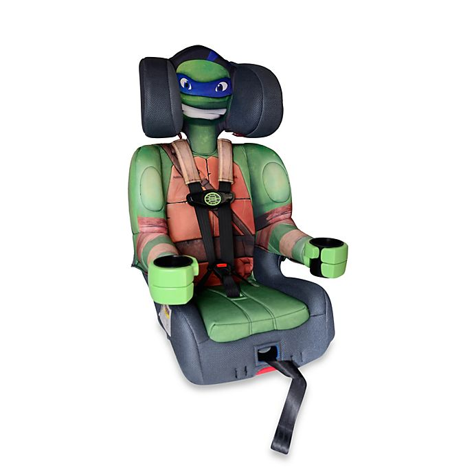 Alternate image 1 for KidsEmbrace® Nickelodeon Teenage Mutant Ninja Turtle Leo Combination Harness Booster Car Seat