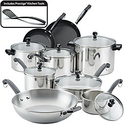 Farberware® Classic Series Stainless Steel 16-Piece Cookware Set