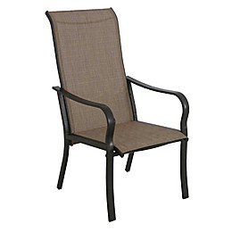 Never Rust Aluminum Sling Dining Chairs (Set of 2)