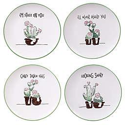 Certified International Desert Bloom 8.25-Inch Dessert Plates (Set of 4)