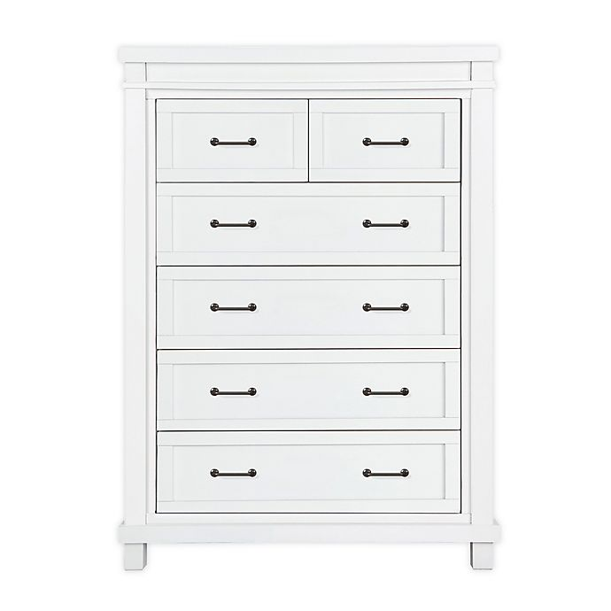 Alternate image 1 for Baby Appleseed® Rowan 6-Drawer Tall Dresser