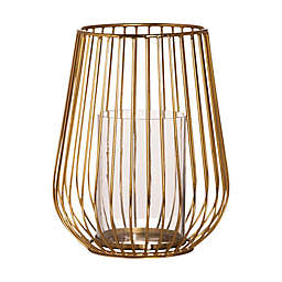 O&O by Olivia & Oliver™ Bronze Wired Hurricane Candle Holder