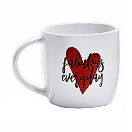 Fabulous Everyday Coffee Mug in Red/Black
