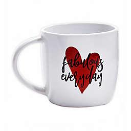 Fabulous Everyday Coffee Mug in Red/Black
