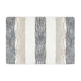 "KAS ROOM Zerena Striped 20"" x 30"" Bath Rug in Natural"