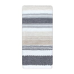 KAS ROOM Zerena Striped Fingertip Towel in Natural