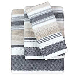 KAS ROOM Zerena Striped Bath Towel Collection