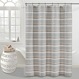 KAS ROOM Zerena Striped Shower Curtain Collection