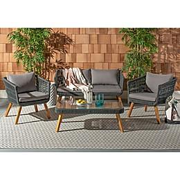Safavieh Denridge 4-Piece Outdoor Furniture Set