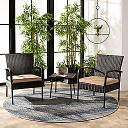 Safavieh Moore 3-Piece Lounge Set