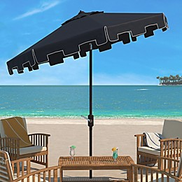 Safavieh Zimmerman 11-Foot Round Market Umbrella