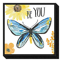 Beautiful Butterfly III 16-inch Square Framed Wall Art