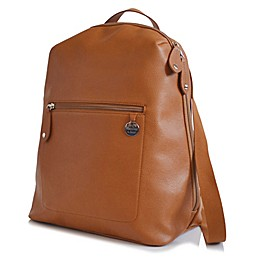 PacaPod Hartland Leather Backpack Diaper Bag