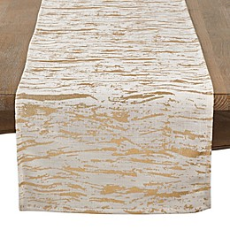 Saro Lifestyle Loretta Distressed Table Runner