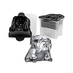 Tovolo® Bulldog Ice Mold in Charcoal (Set of 2)