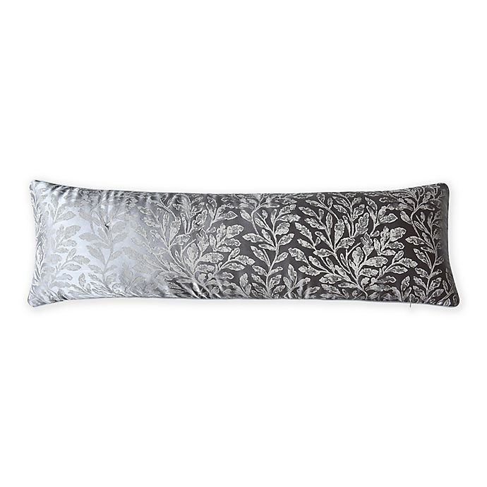 Alternate image 1 for Wamsutta® Collection Harrogate Lumbar Throw Pillow in Grey