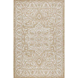 Bee & Willow™ Home Taylor 3'3 x 4'11 Indoor/Outdoor Accent Rug in Ivory