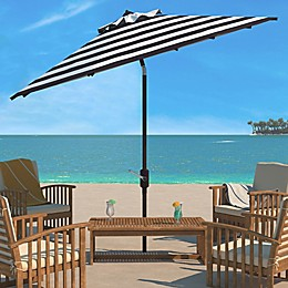 Safavieh Iris Fashion Line 11-Foot Round Patio Umbrella