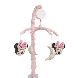 Disney® Twinkle Twinkle Minnie Mouse Musical Mobile in Pink