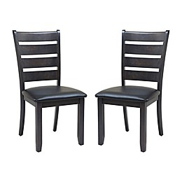 TTP Furnish Sturdy Dining Chairs (Set of 2)