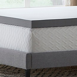 "Dream Collection™ by LUCID® 3"" Charcoal Memory Foam Mattress Topper"