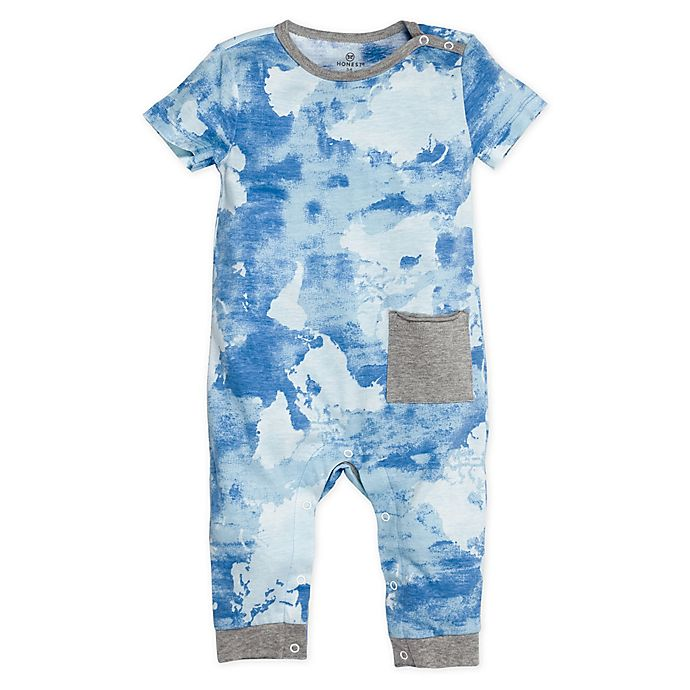 Alternate image 1 for Honest Baby® Watercolor World Snap Shoulder Organic Cotton Coverall