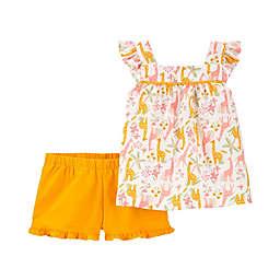 carter's® Size 9M Jungle Top and Short Set