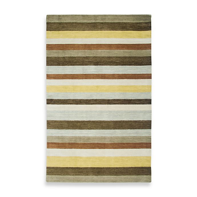 Alternate image 1 for Rizzy Home Platoon 5-Foot x 8-Foot Area Rug in Brown/Multi