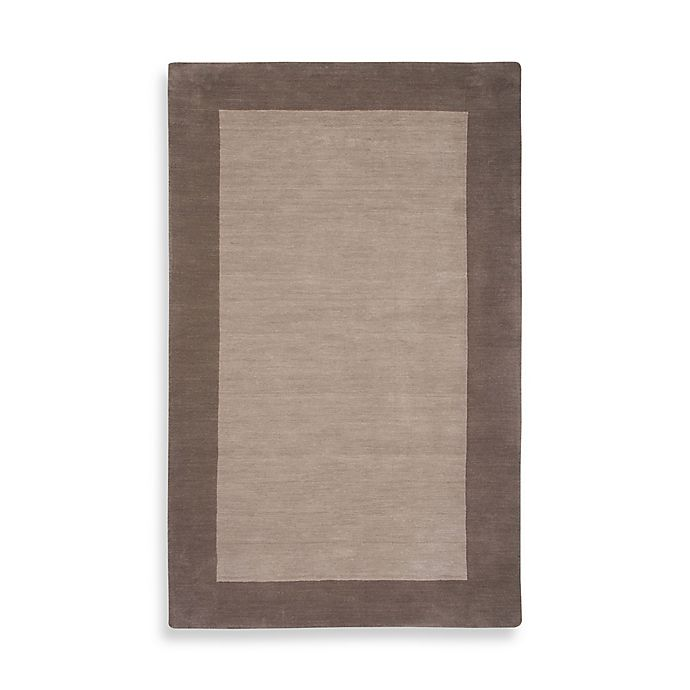 Alternate image 1 for Rizzy Home 8-Foot x 10-Foot Bordered Platoon Area Rug in Light Brown